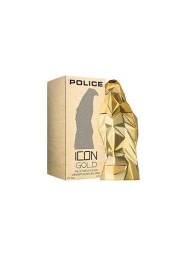 Police İcon Gold Man Edp 125 Ml Renksiz